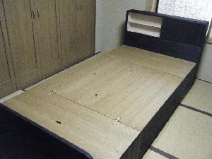 焼桐ベッド