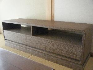 焼桐TVボード