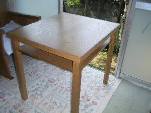 総桐テーブル