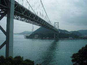関門橋 本州側から撮影