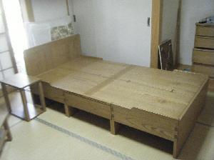 総桐ベッド