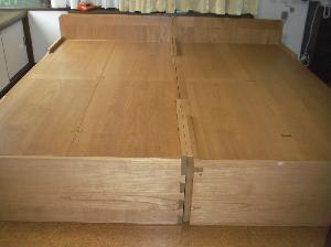 総桐収納ベッド